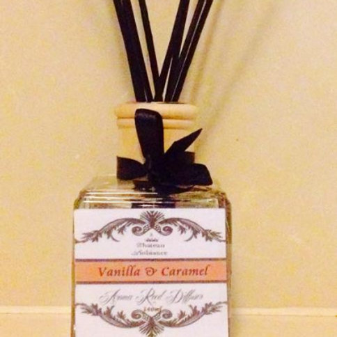 Aroma Reed Diffuser- Caramel & Vanilla