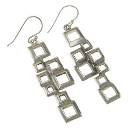 Chic Square Earrings