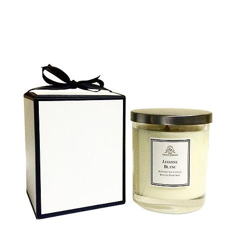 Luxury Scented Candle- Jasmine Blanc