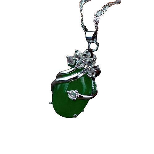 Green Jade Stone Pendant