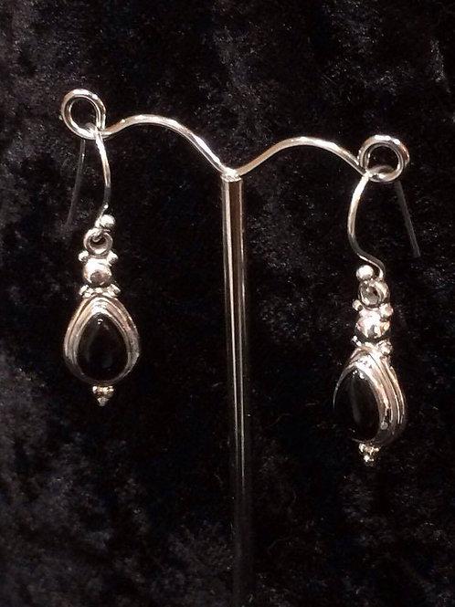 Onyx Stone Earring
