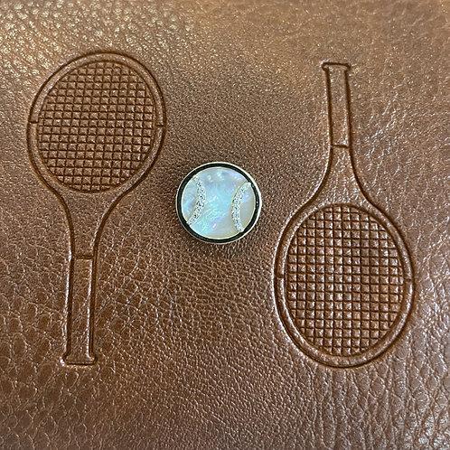 14K Gold Tennis Ball Charm Only