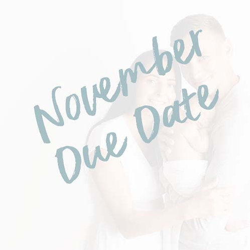 My Baby's First Year | November