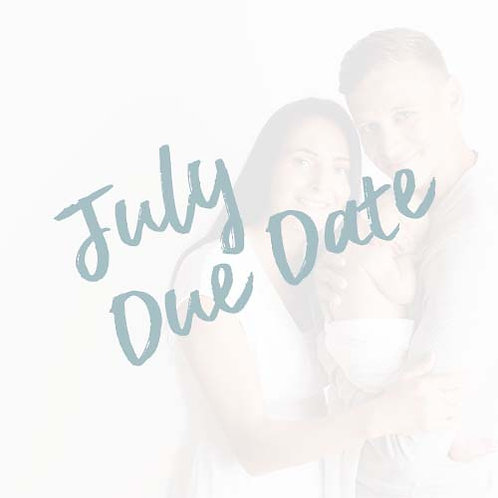 My Baby's First Year | July