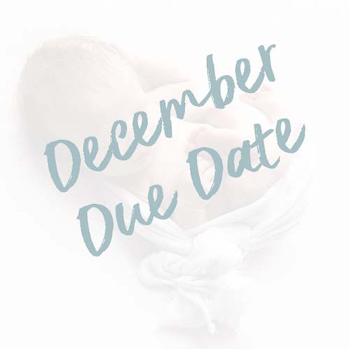 My Baby's First Year   December