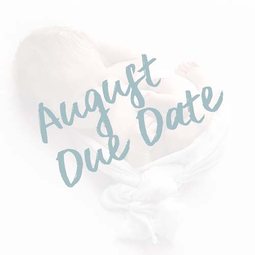 My Baby's First Year | August