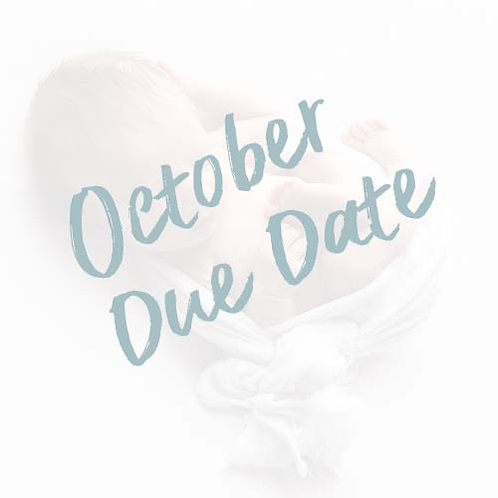 My Baby's First Year | October