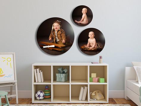 Baby Photos Cornwall | Acrylic