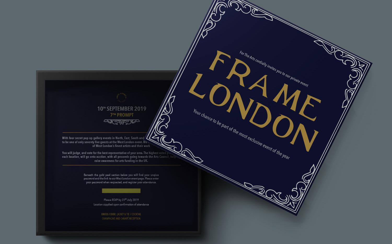 ARTS FUNDING CAMPAIGN | Box invitation