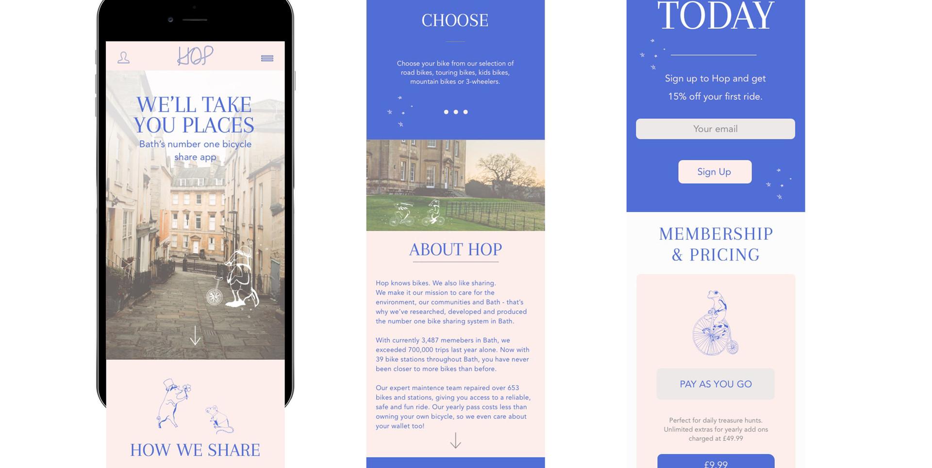 Bike Hire App | Student Project