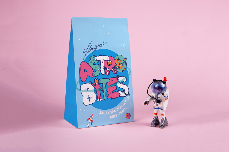 Astro Bites Illustration