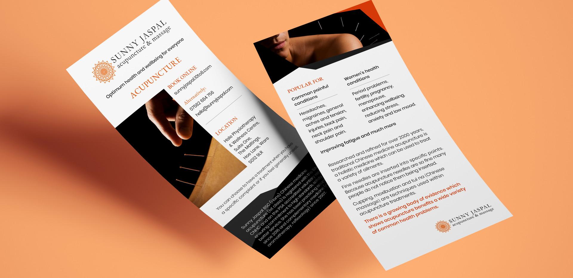 Sunny Jaspal DL Leaflet