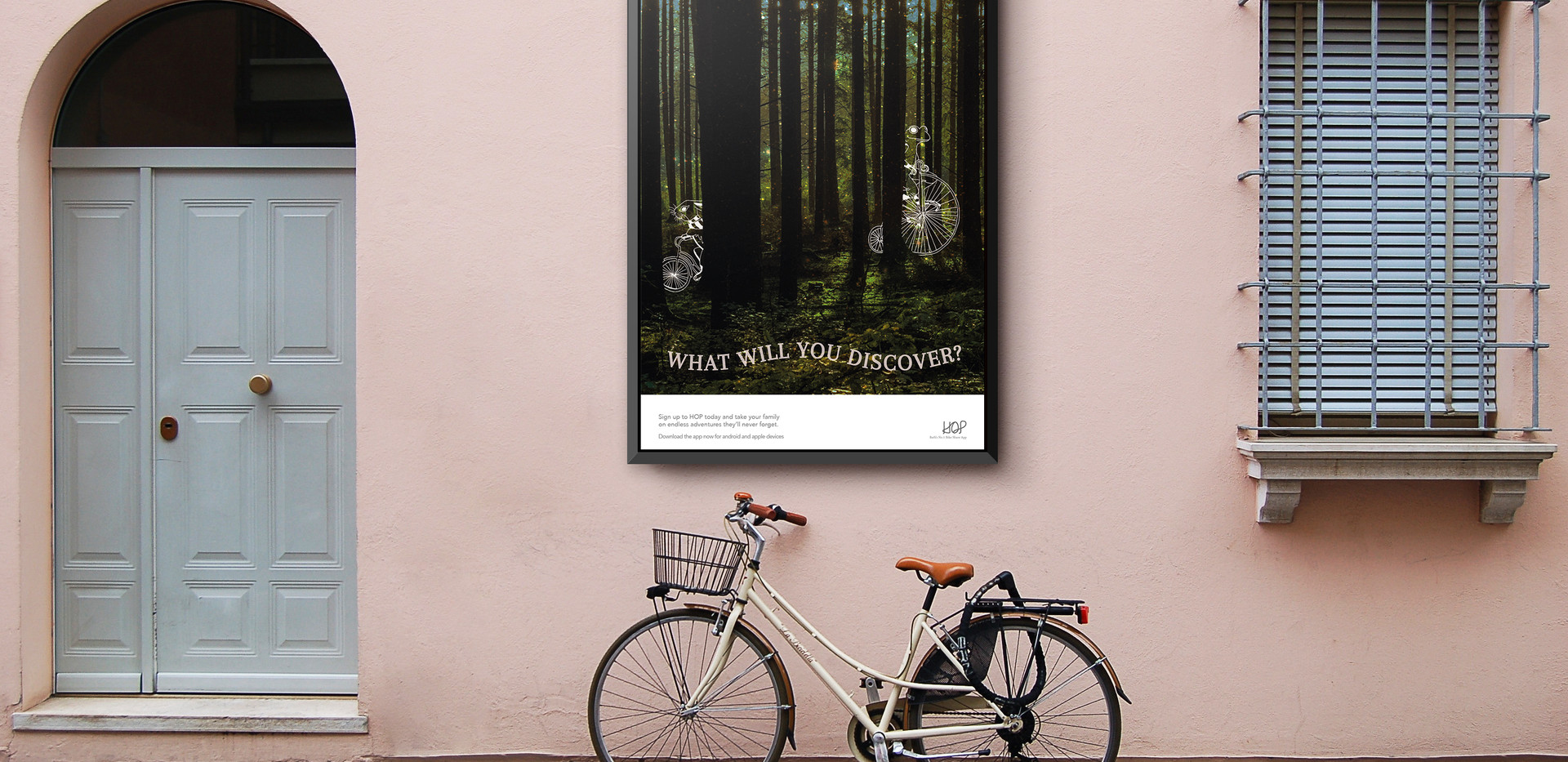 BIKE APP   Campaign Poster