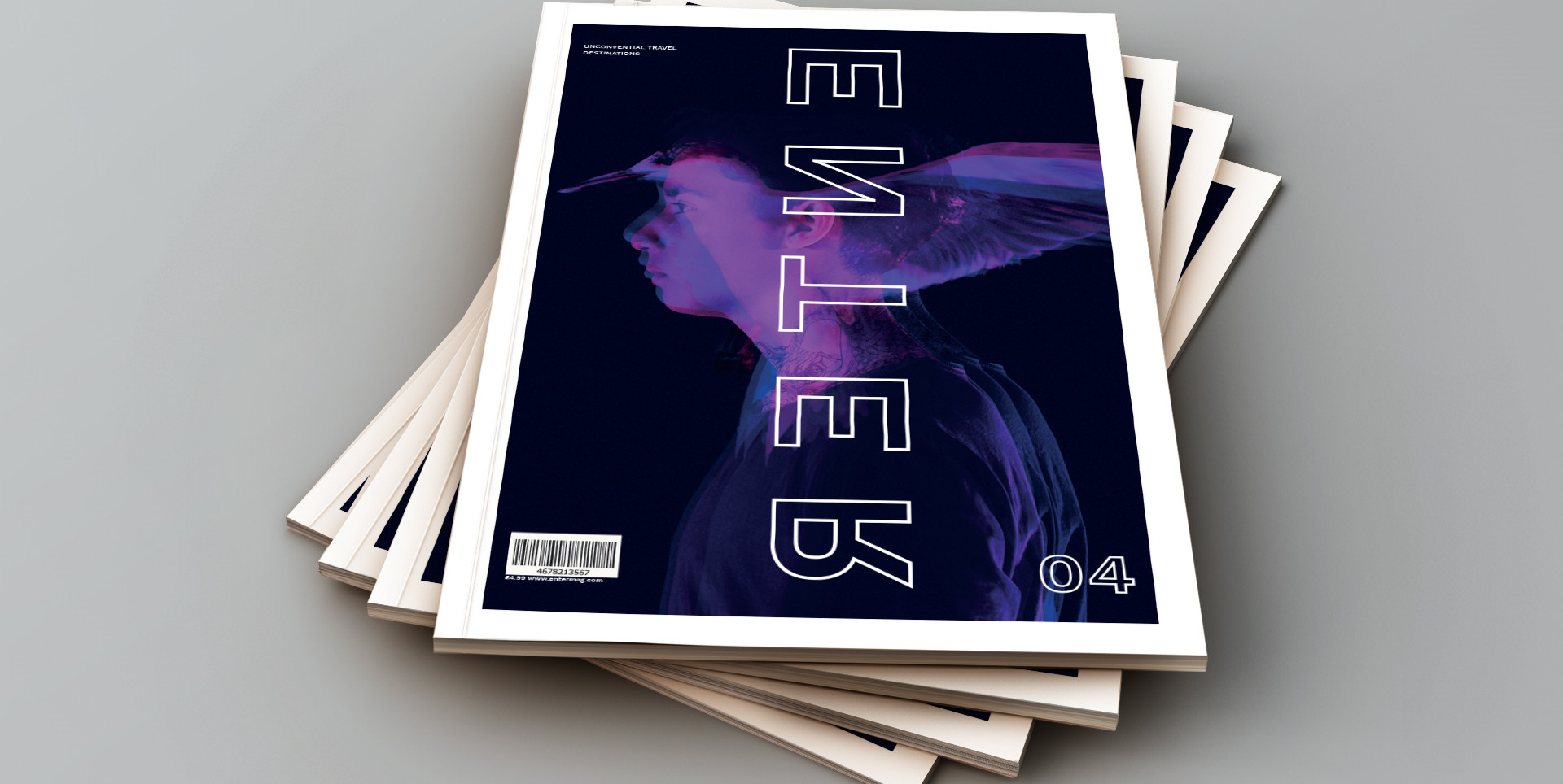 Travel Magazine 'Enter' | Student Project