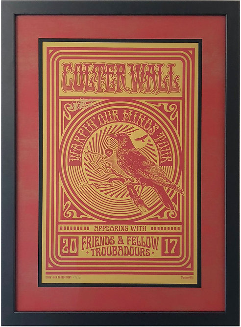 Colter Wall warpin' our minds tour poster