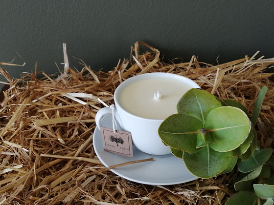 Teacup Body Butter Candles
