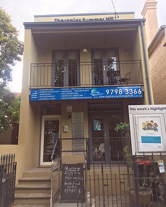 Exterior building housing Summer Hill Osteopathy