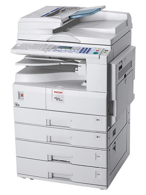 Ricoh Aficio MP 2000 multi functional printer/photocopier
