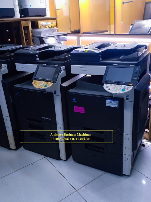 Konica Minolta Bizhub c220 digital color printer