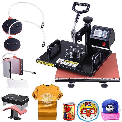 8 In 1 Digital T-shirt printing machine Heat Press