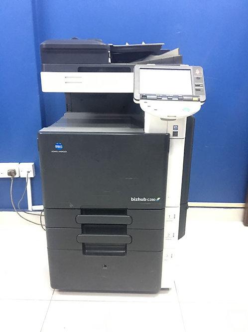 Konica Minolta Bizhub C360 digital color printer/photocopier