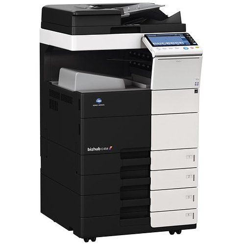 Konica Minolta Bizhub c454 digital color printer/photocopier