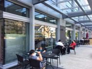 Sean y Mati Saludando Front Cafe IMG_629