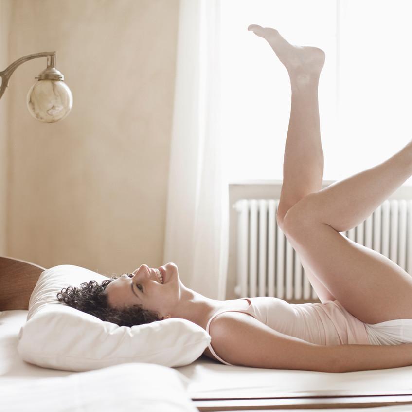Spelen op bed