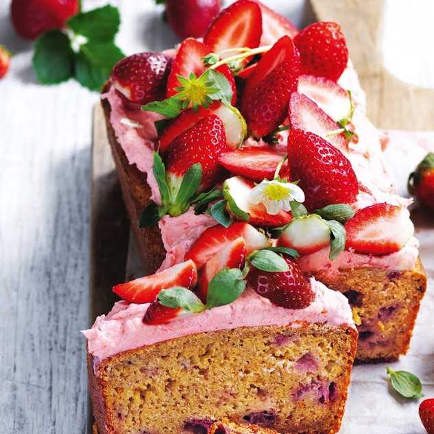 Best-ever strawberry banana bread