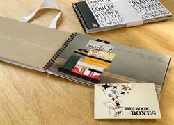 Interior Booklet of Box Designs