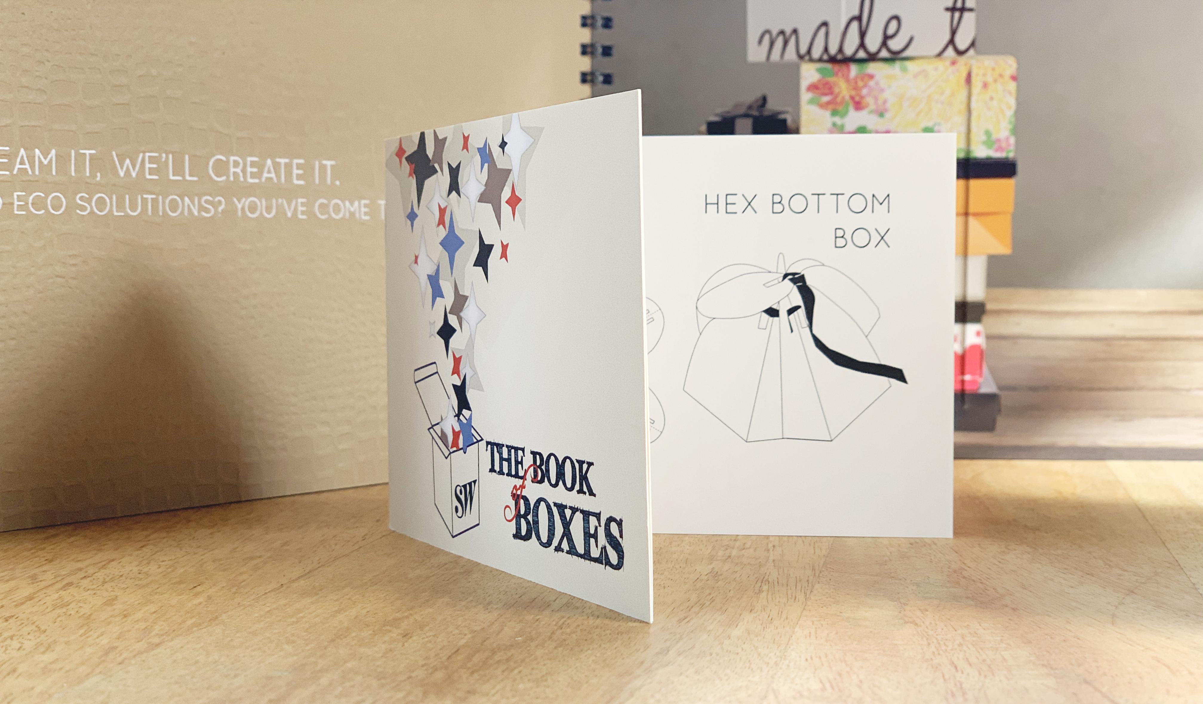 Interior box booklet