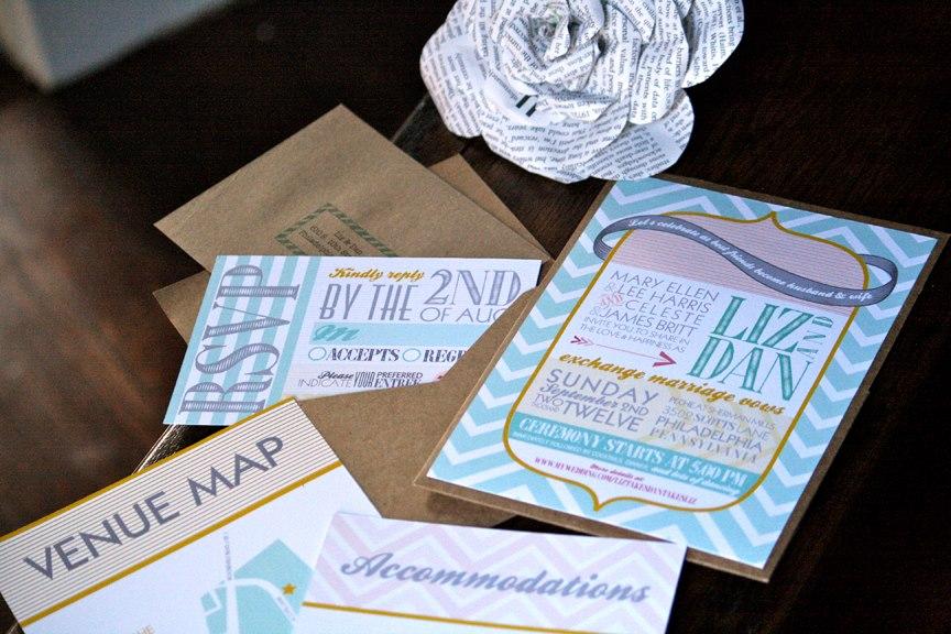 Creative & Unique Wedding Invitation