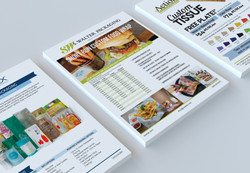 One Pager Sales Sheets