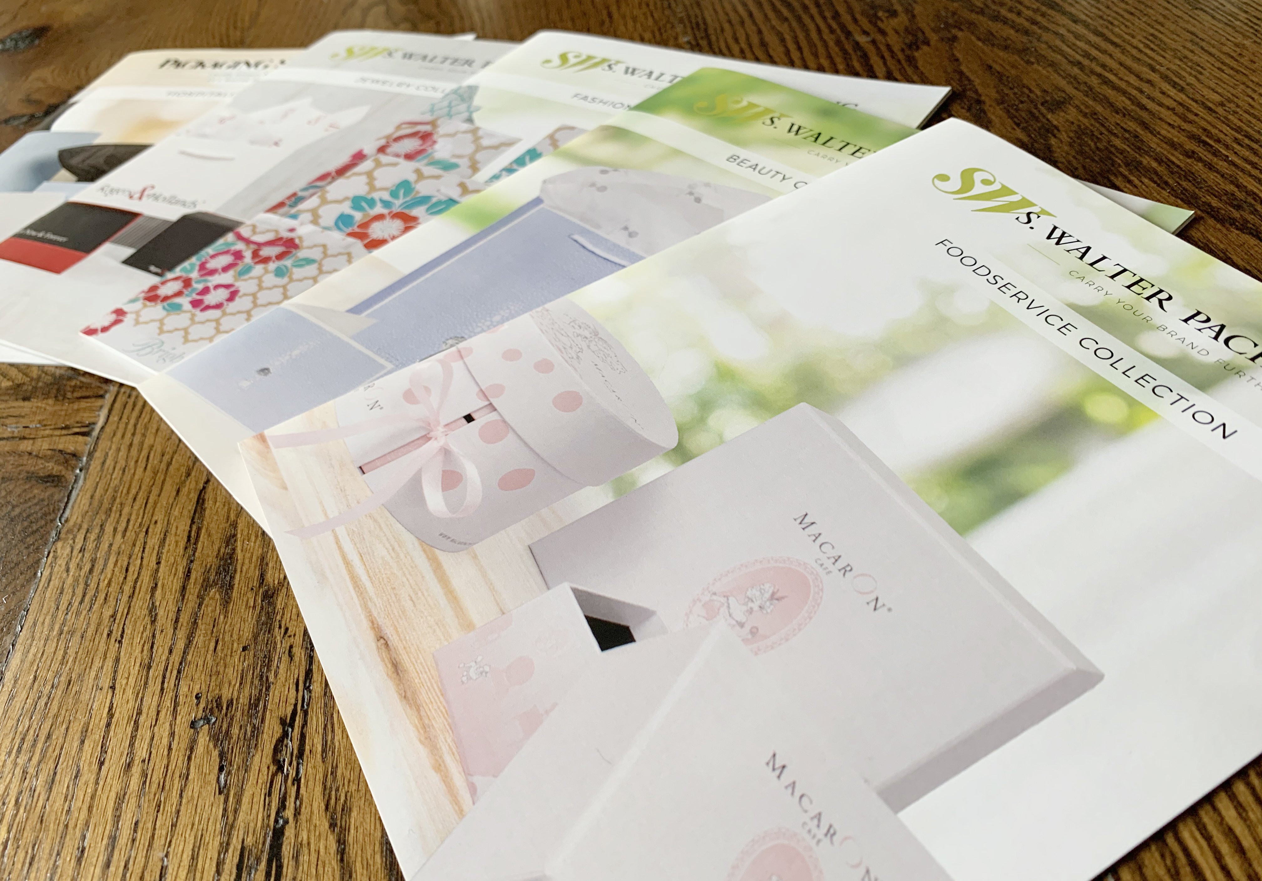 Vertical Catalogs: Beauty, Foodservice, Jewelry, Hospitality and Fashion