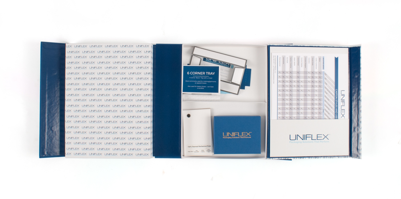 Uniflex Sample Box Kit Interior