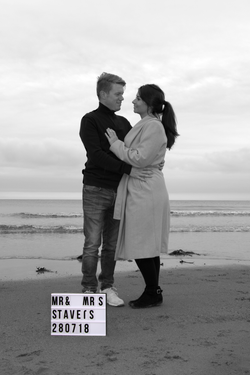 Bride and Groom to be engaged