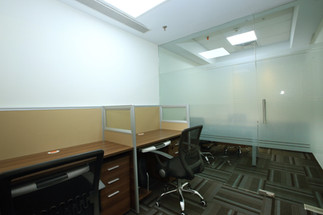 Chambers with Workstations  Furnished office with chamber and workstations. No huge investment, flexible agreements, start your work from day one.  Need an office? Call 7604092334