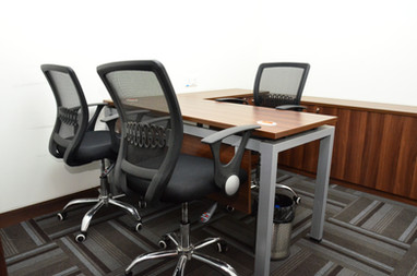 Modern Furniture with closet drawers for storage  Offices of Infinity Business Centre provides modern furniture, quality desks, chairs and drawers for storage.  Need an office? Call 7604092334