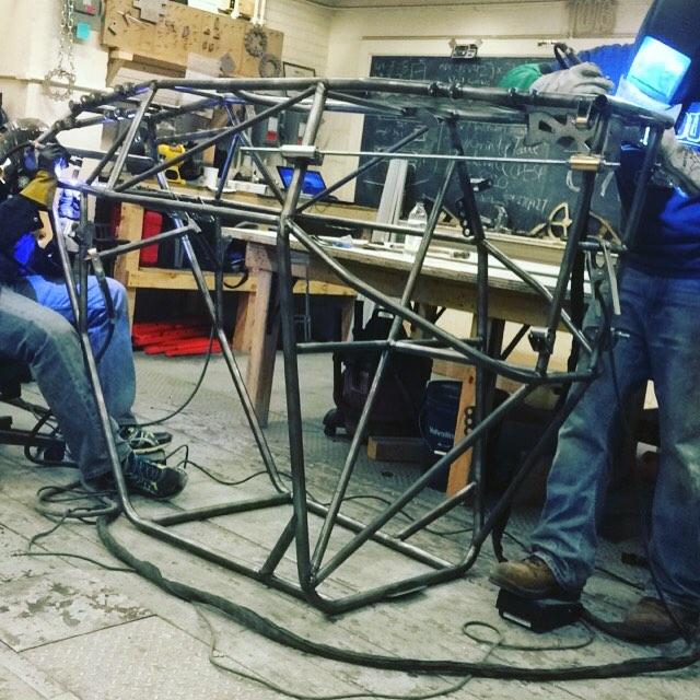 #bajasae #purdueuniversity #engineering #weld #chassis