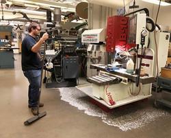 #purduebaja #machineshop #fryer #mb10 #cnc #aluminum