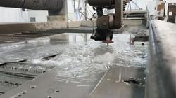 #waterjet #cutting #purduebaja #bajasae