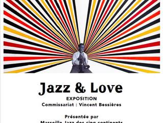 'Jazz & Love' : Vernissage de l'exposition le 12 juillet à 18h30 au centre de la Vie