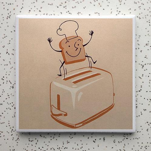 Mr Toast Coaster