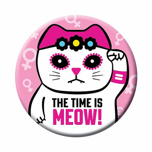The Time is Meow Magnet