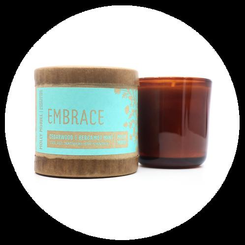 Embrace (Cedarwood & Bergamot Mint) Candle