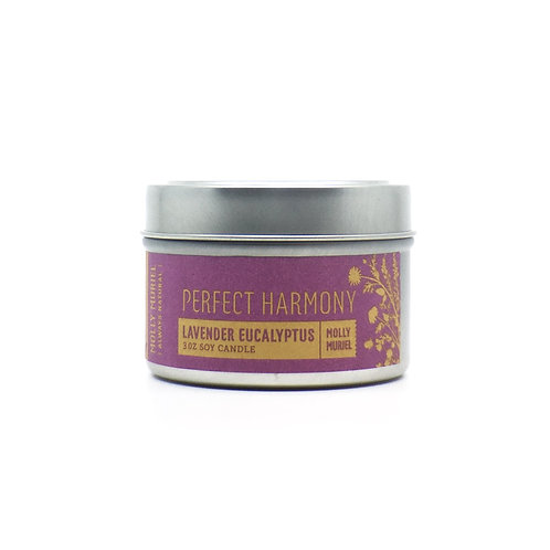 Perfect Harmony (Lavender Eucalyptus) Travel Candle