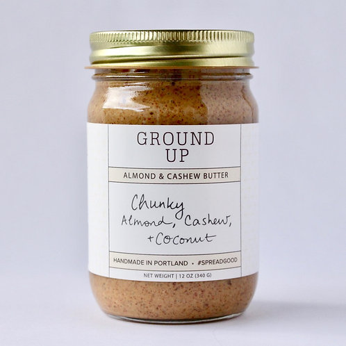 Chunky Almond Cashew & Coconut Nut Butter