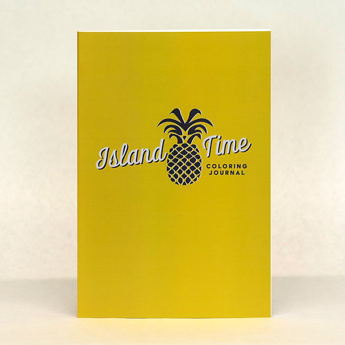 Island Time Coloring Journal