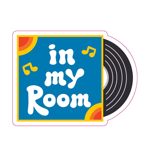 In My Room Sticker