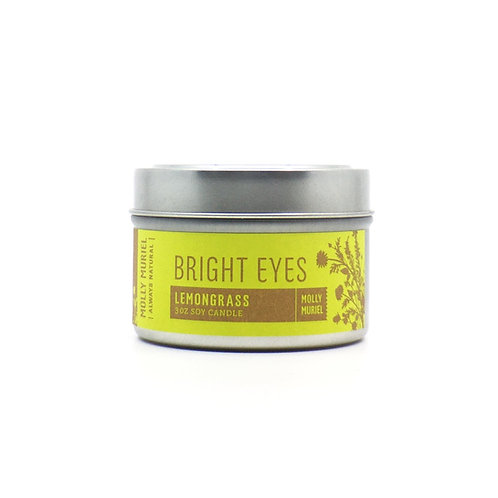 Bright Eyes (Lemongrass) Travel Candle